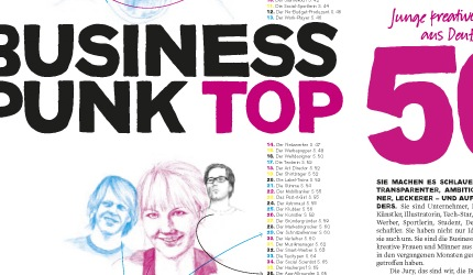 Business Punk TOP50 Kreative Macher in Deutschland - Claudio Nadalutti