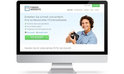 Meine Firmenwebseite Homepage