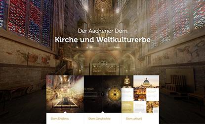 Relaunch Aachener Dom Interactive Pioneers